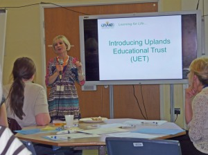 Jackie Smith Head Teacher tells us about the projects the Uplands Educational Trust are developing.